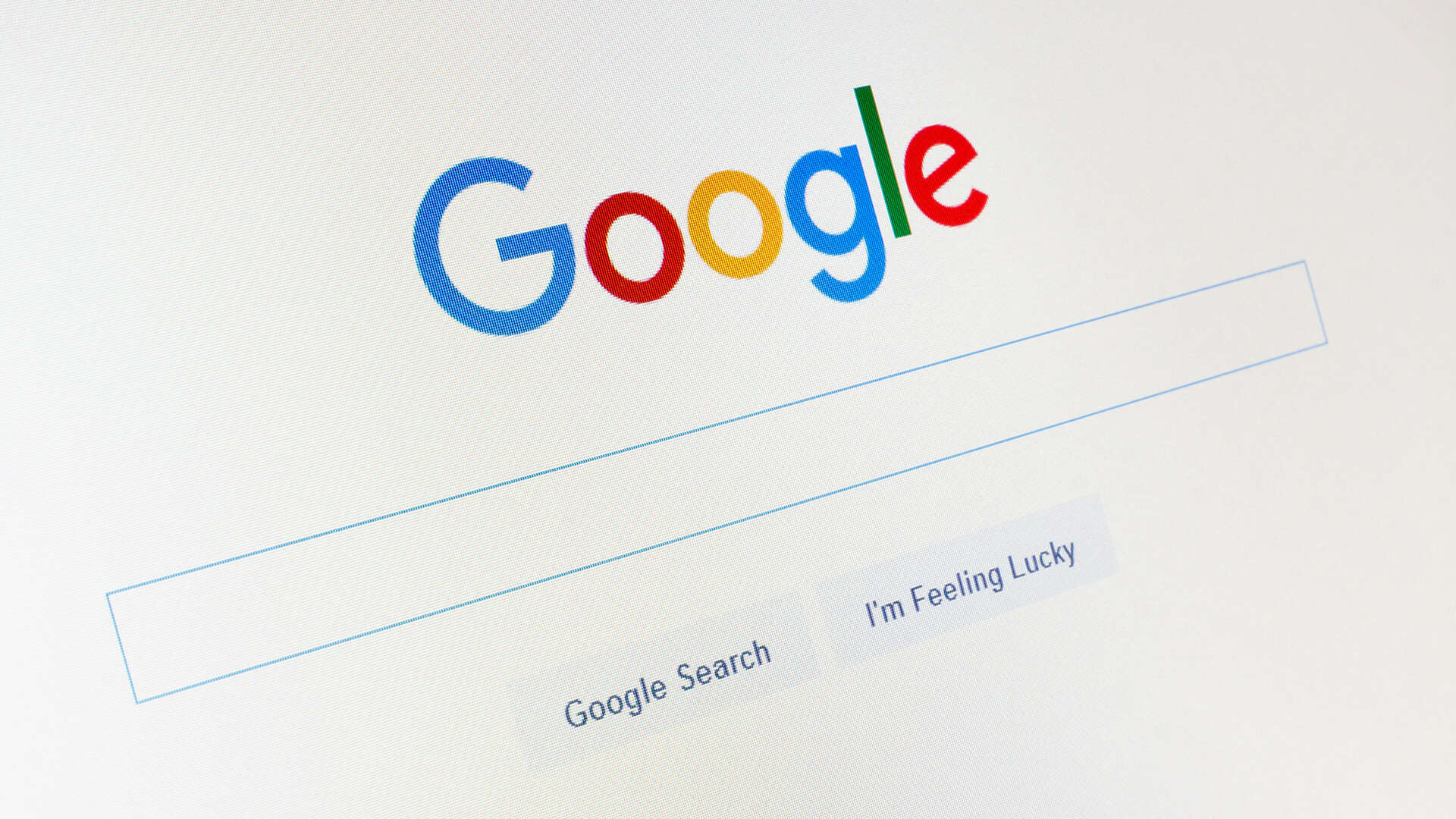 Google Search Page Image